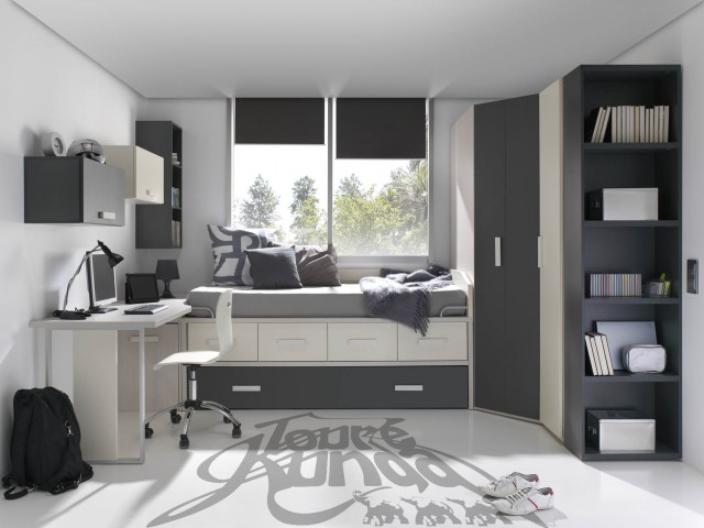 c mo iluminar un cuarto de estudio sologremios. Black Bedroom Furniture Sets. Home Design Ideas